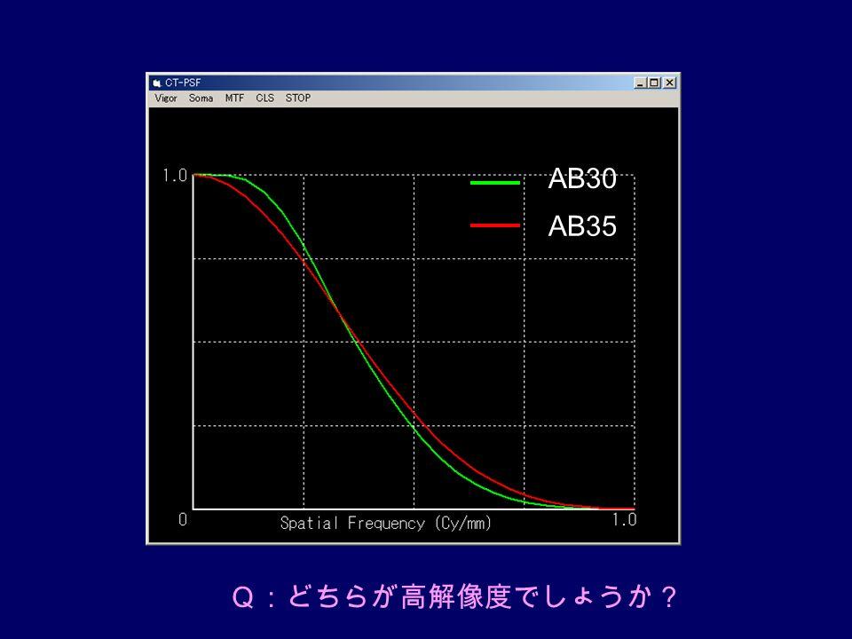 AB30 AB35 Q:どちらが高解像度でしょうか?