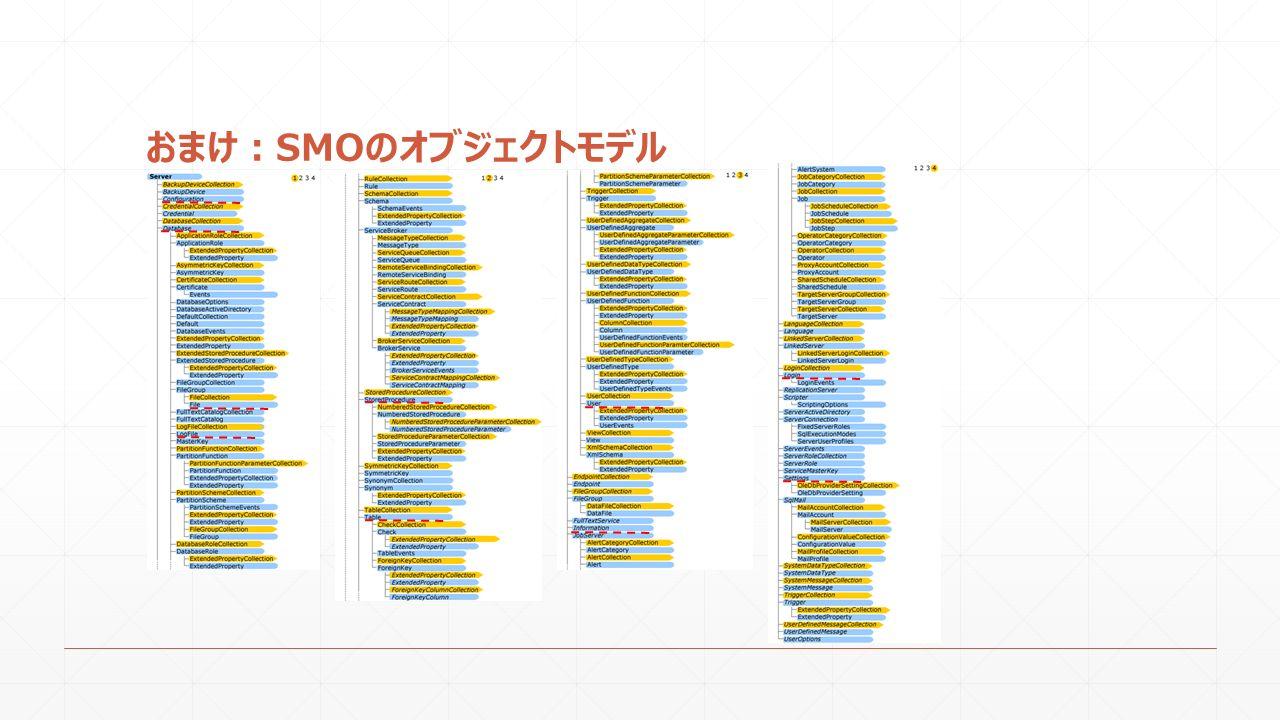 おまけ:SMOのオブジェクトモデル