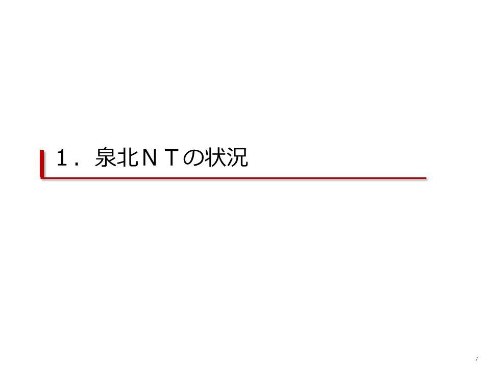 1.泉北NTの状況 7