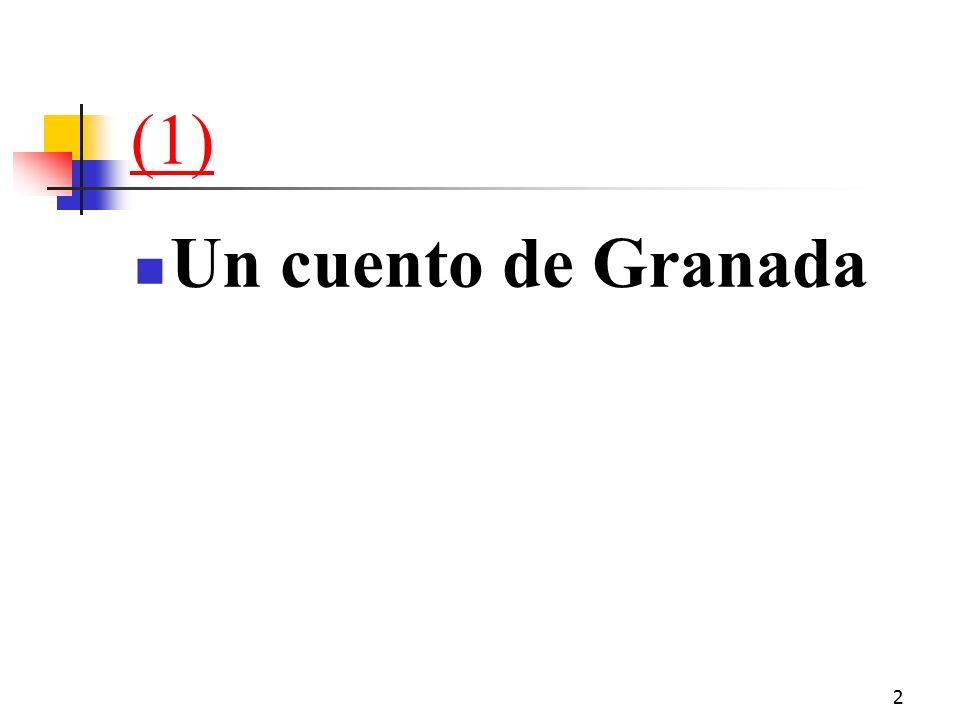 2 (1) Un cuento de Granada