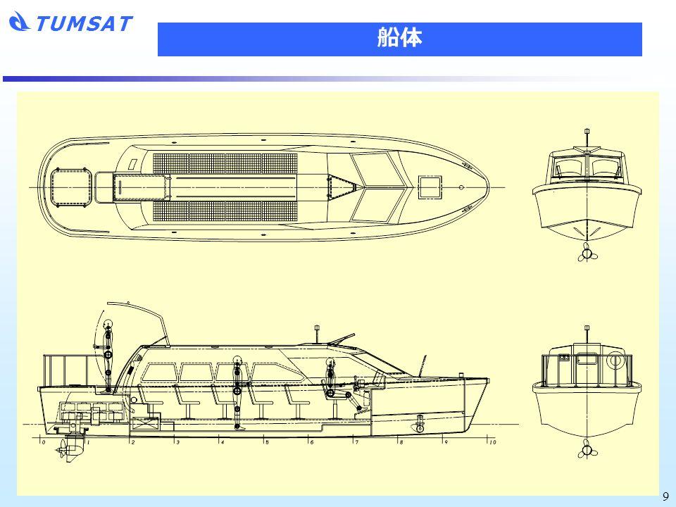 TUMSAT 9 船体