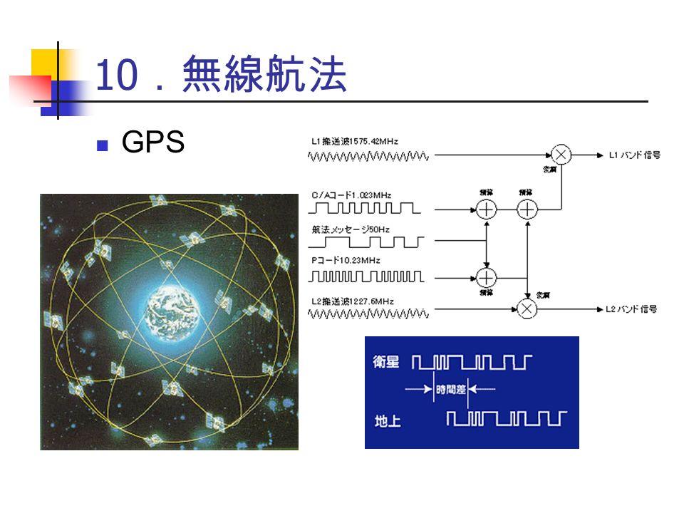 10 .無線航法 GPS