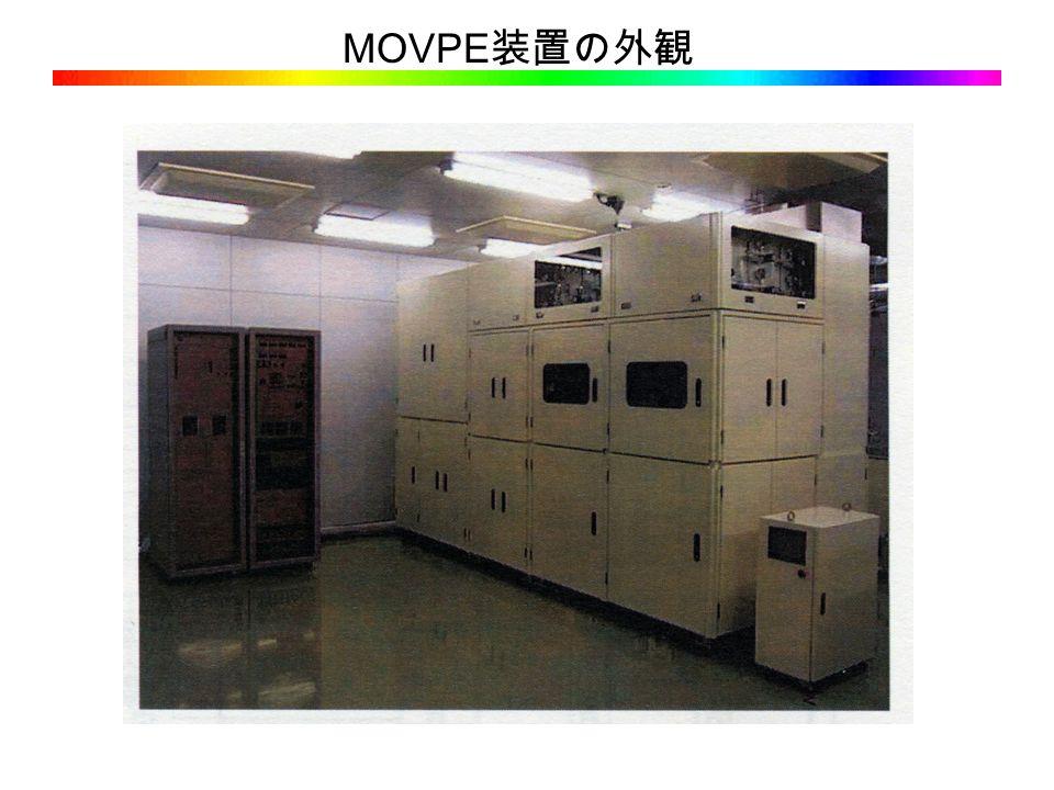 MOVPE 装置の外観