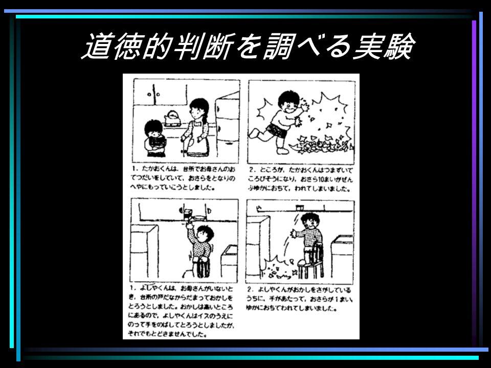 児童期の「心の理論」 道徳的判断の発達