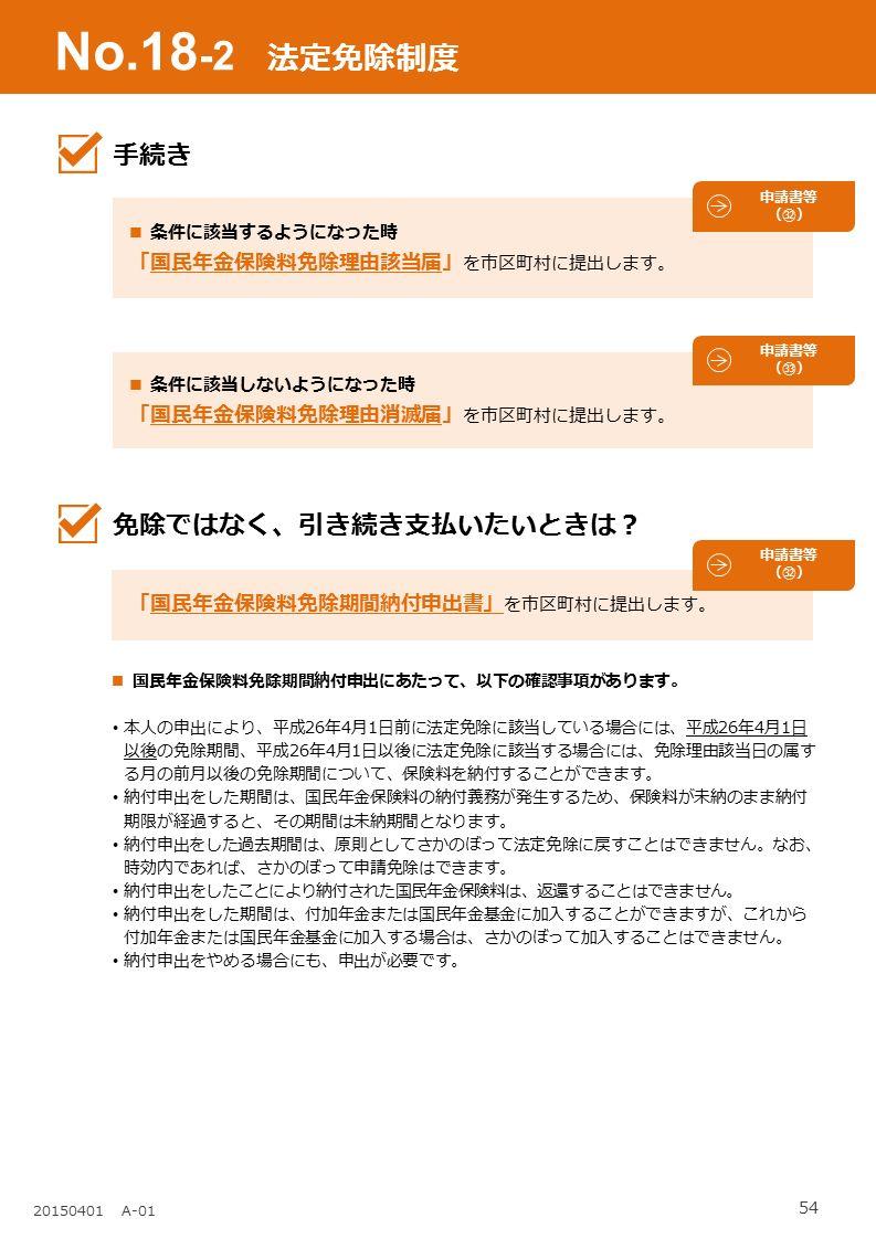 国民年金保険料免除事由(該当・消滅)届 法定免除|江南市公式ホームページ